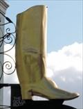 Image for Golden Wellington Boot - Gabriel's Hill, Maidstone, UK