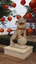 Image for Temple Lions—Pakse Town, Laos