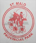 Image for St Malo Provincial Park Passport Stamp - St Malo MB