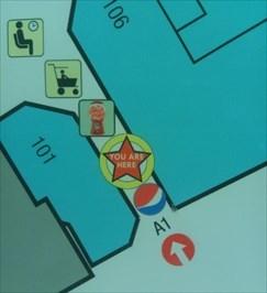 Quail Springs Mall - Oklahoma City, Oklahoma - 'You Are Here' Maps on