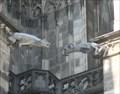 Image for Football mascots as gargoyles ?