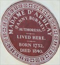Image for Madame D' Arblay - Bolton Street, London, UK