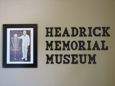 Headrick Memorial Museum Sign, IDGC, Appling, Georgia