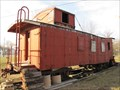 Image for Chicago, Burlington and Quincy Railroad Caboose 14540 - Green City, Missouri