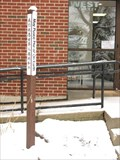 Image for First Congregational Church (Downers Grove, IL) Peace Pole