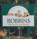 Image for Welcome to Robbins, NC sign