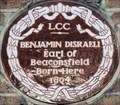 Image for Benjamin Disraeli - Theobald's Road, London, UK
