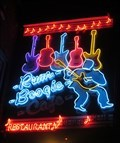 Image for Rum Boogie Café - Neon - Memphis, Tennessee, USA.