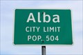 Image for Alba, TX - Population 504
