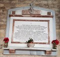 Image for Memorial Tablet - St Botolph and St John The Baptist - Croxton Kerrial, Leicestershire