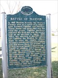 Image for Battle of Manton