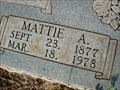 Image for 100 - Mattie A. Smith - Luther, OK