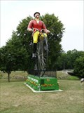 Image for Ginormous Bicycle in Sparta, Wisconsin