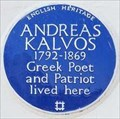 Image for Andreas Kalvos - Sutherland Avenue, London, UK