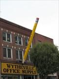 Image for Big Pencil - Wytheville, Virginia.