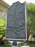 Image for St. Philip's Churchyard Historical Marker - Charleston, SC