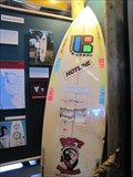 Image for Shark Bite Board, Surfing Museum - Santa Cruz, CA