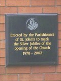 Image for St. John The Evangelist Church - 25 YEARS - Chesterton, Newcastle-under-Lyme, Staffordshire, UK