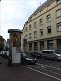 Image for Concrete Advertising Column - Triftstraße - Frankfurt-Niederrad - Germany - Hessen