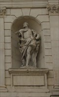 Image for King James I of England / James VI of Scotland -- Temple Bar Gate, Paternoster Square, City of London, UK