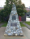 Image for Royal Canadian Legion memorial cairn - Elkford, British Columbia