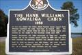 Image for The Hank Williams Kowaliga Cabin 1952