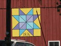 Image for 1876 Barn Quilt – Guttenberg, IA