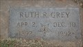 Image for 100 - Ruth R. Grey -  Summit View Cemetery - Guthrie, OK