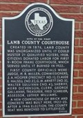 Image for Site of the First Lamb County Courthouse