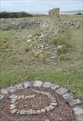 Image for Gravel Sculptures - Satellite Oddity - Rhoose Point, Vale of Glamorgan, Wales.
