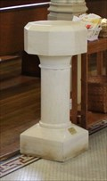 Image for Holy water fonts -- St Peter Catholic Church, Memphis TN