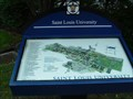 Image for Saint Louis University South Entrance You Are Here Map - St. Louis, Missouri