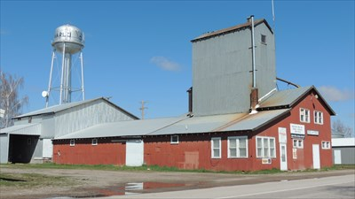 Water Tower & Feed/Seed Store