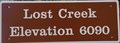 Image for Calif. Hwy. 89 - Lost Creek - Elevation 6090
