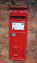 Image for Wall mounted post box , Little Alne, Warwickshire, UK