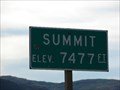 Image for Soldier Summit - Elevation 7477