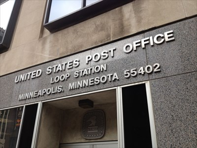 front of post office