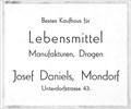 Image for Kaufhaus Josef Daniels - 1932, Mondorf, NRW, Germany