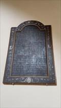Image for Benefactors Plaque - St Peter & St Paul - Preston Capes, Northamptonshire, UK