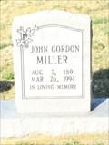 Image for 103 - John Gordon Miller, Wilkesboro, North Carolina
