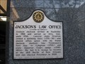 Image for Jackson's Law Office - Historical Commission of Metropolitan Nashville and Davidson County