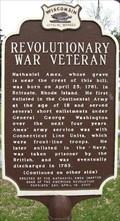 Image for Revolutionary War Veteran Historical Marker