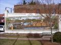 """Image for Dan River """"Rivermen"""" Mural- Eden, NC"""