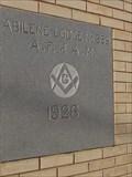 Image for 1926 - Abilene Lodge No. 559 A.F. & A.M. -  Abilene, TX