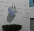 Image for UFO crash mural - Palo Alto, CA