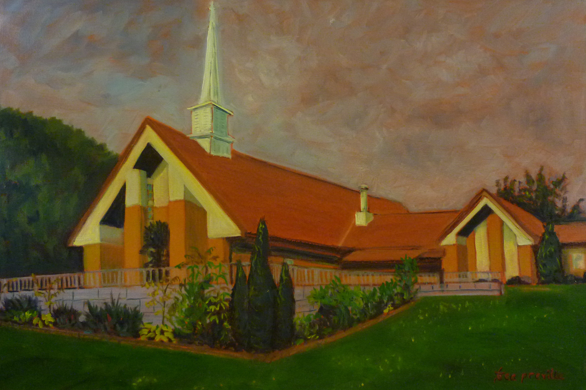 Church of Jesus Christ of Latter Day Saints Nelson, BC by Tea Preville