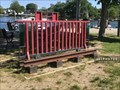 Image for Little Red Caboose bike rack - Wickford, Rhode Island  USA