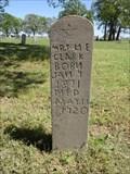 Image for Mrs. N.E. Clark - Burneyville Cemetery - Burneyville, OK