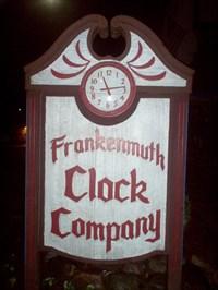 Frankenmuth Clock Company Frankenmuth Mi Town Clocks