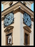 Image for Astronomical Clock on the Town Hall Tower - Uherský Brod, Czech Republic